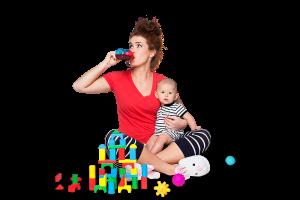 Nikki with Mommy Juice